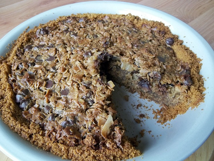 Chocolate Chip Oatmeal Pie: Your Recipe, My Kitchen