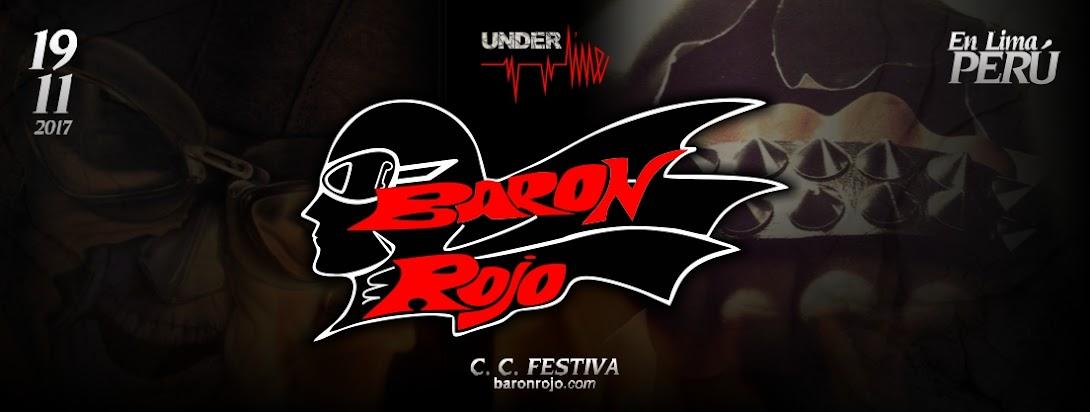 UNDERLINE presenta a: BARON ROJO en Lima-Perú