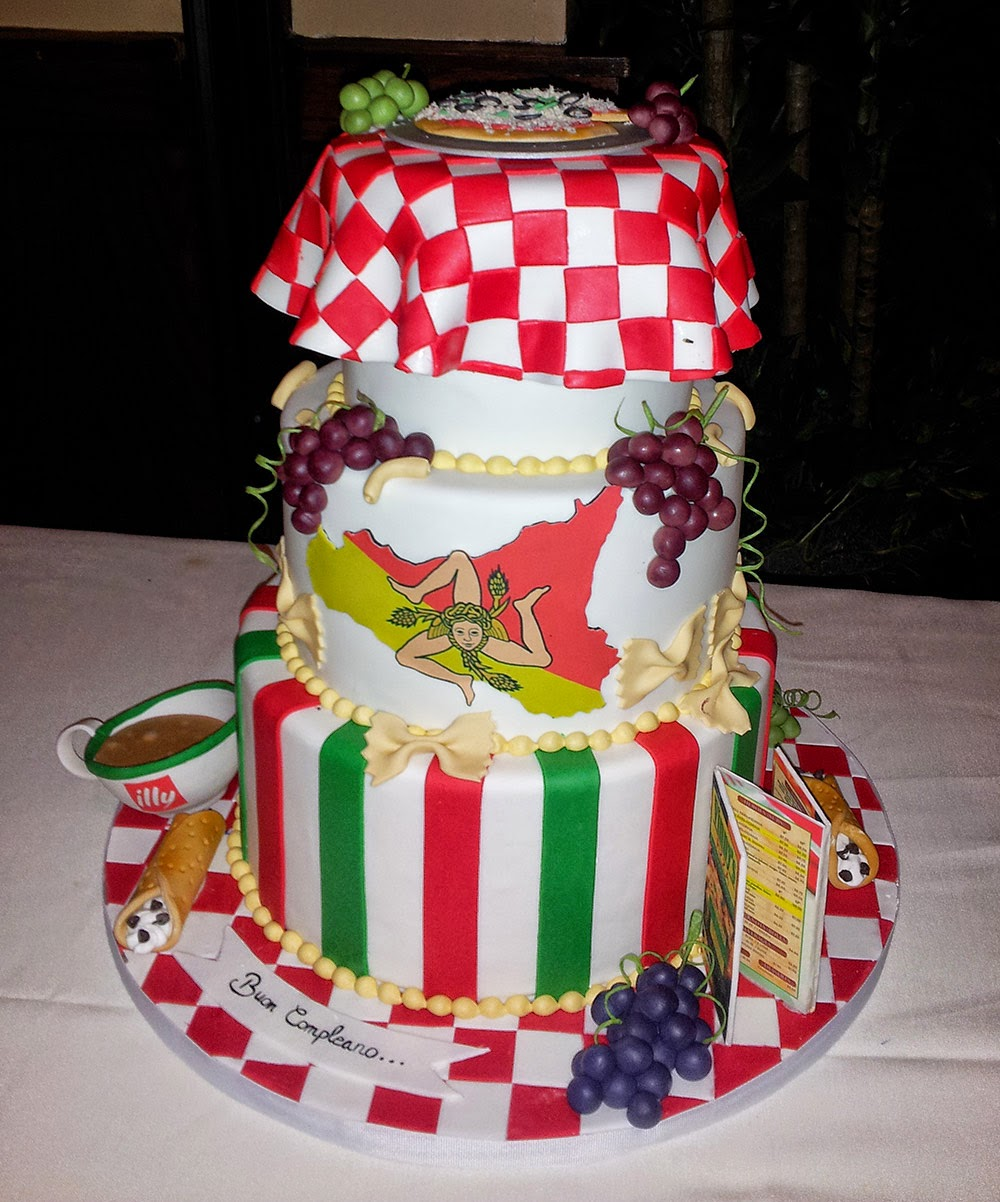 Italian Birthday Cake Enchanting Miscellaneous Garden