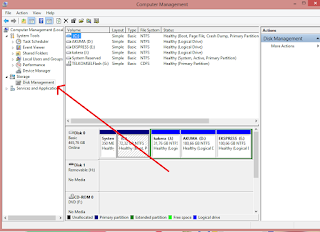 Cara Membuat Partisi Hardisk di Windows 8/8.1