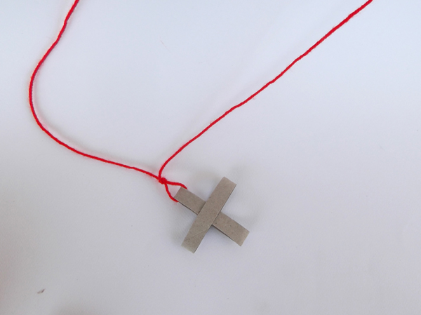 cross pendant, diy,
