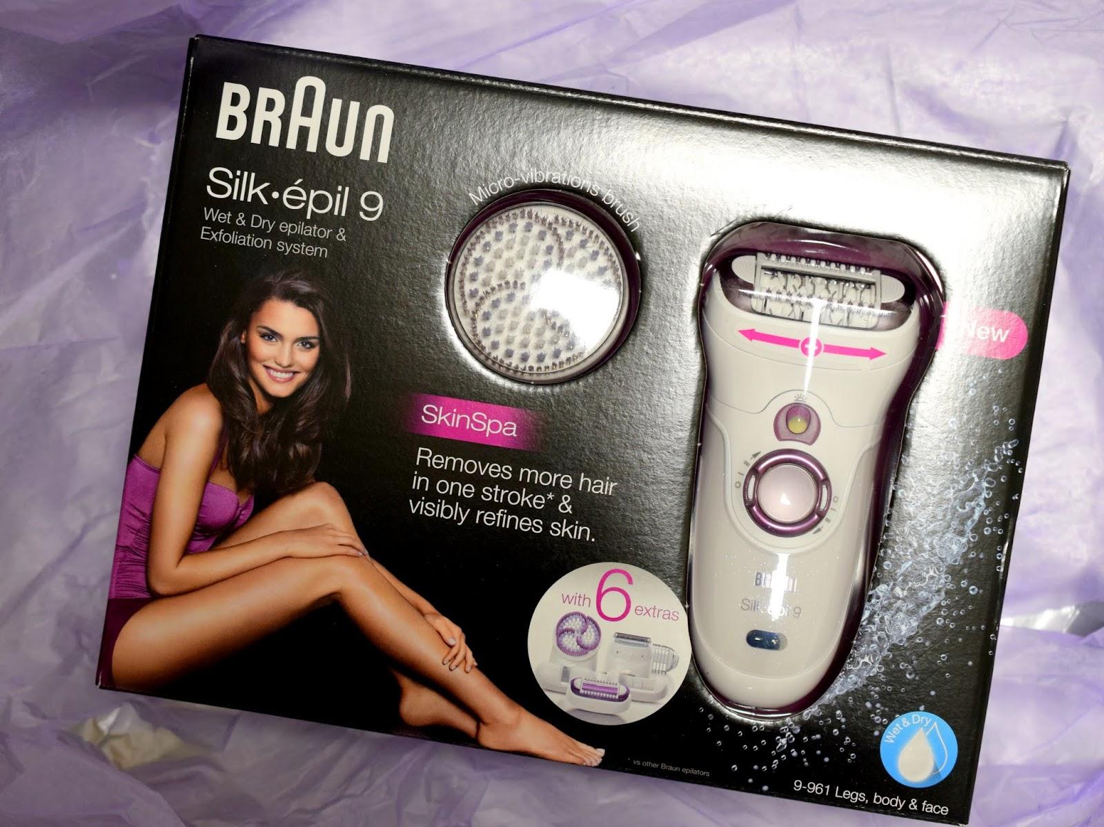 I need sunshine Beauty-Test: Braun Silk-épil 9 Epilierer