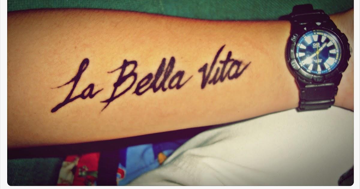 The slim kid inside la bella vita for The bella vita