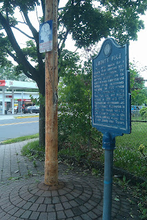 Liberty Pole Englewood NJ New Jersey