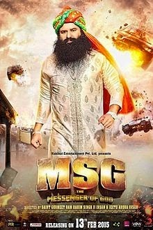 Watch MSG: The Messenger Of God (2015) DVDRip Hindi Full Movie Watch Online Free Download