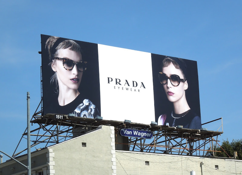 Prada Eyewear SS13 billboard