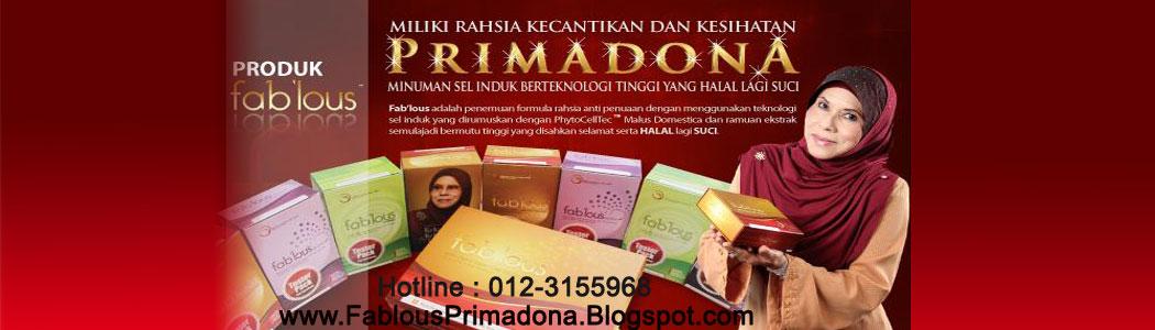 Produk Fablous Primadona Sarimah