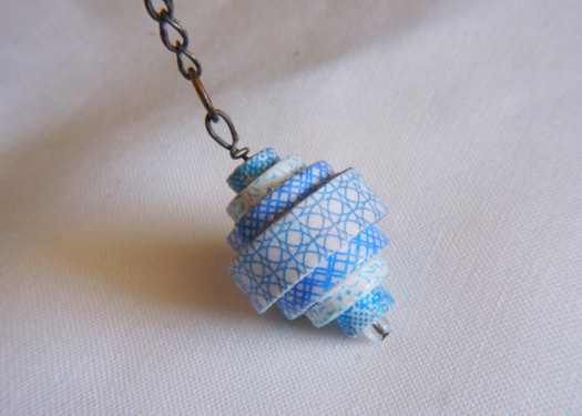 Paper pendent fashionellaconstance paper pendent aloadofball Gallery