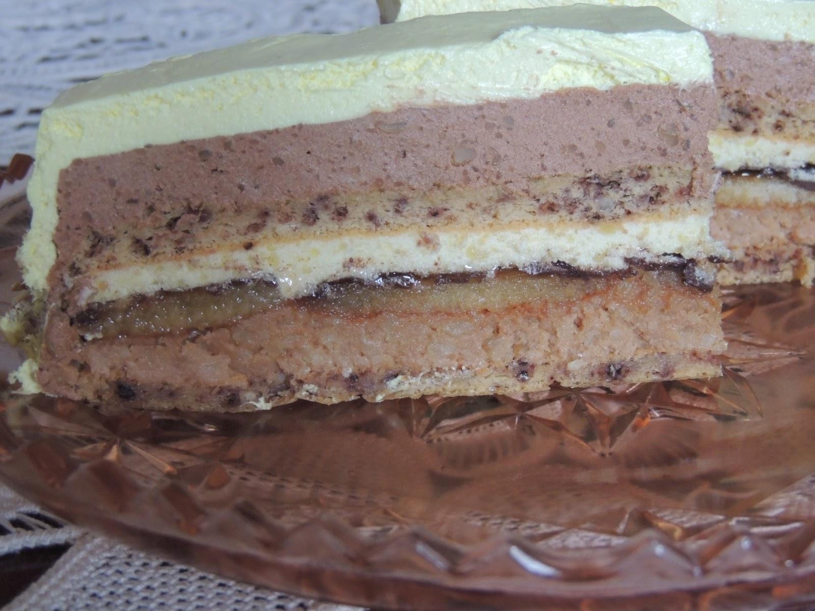 Torta sa korama i orasima