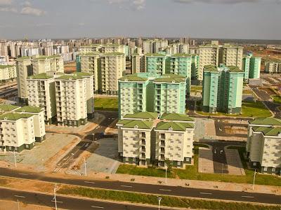 Estranho... Angola imita a China e também cria cidade fantasma novinha em folha