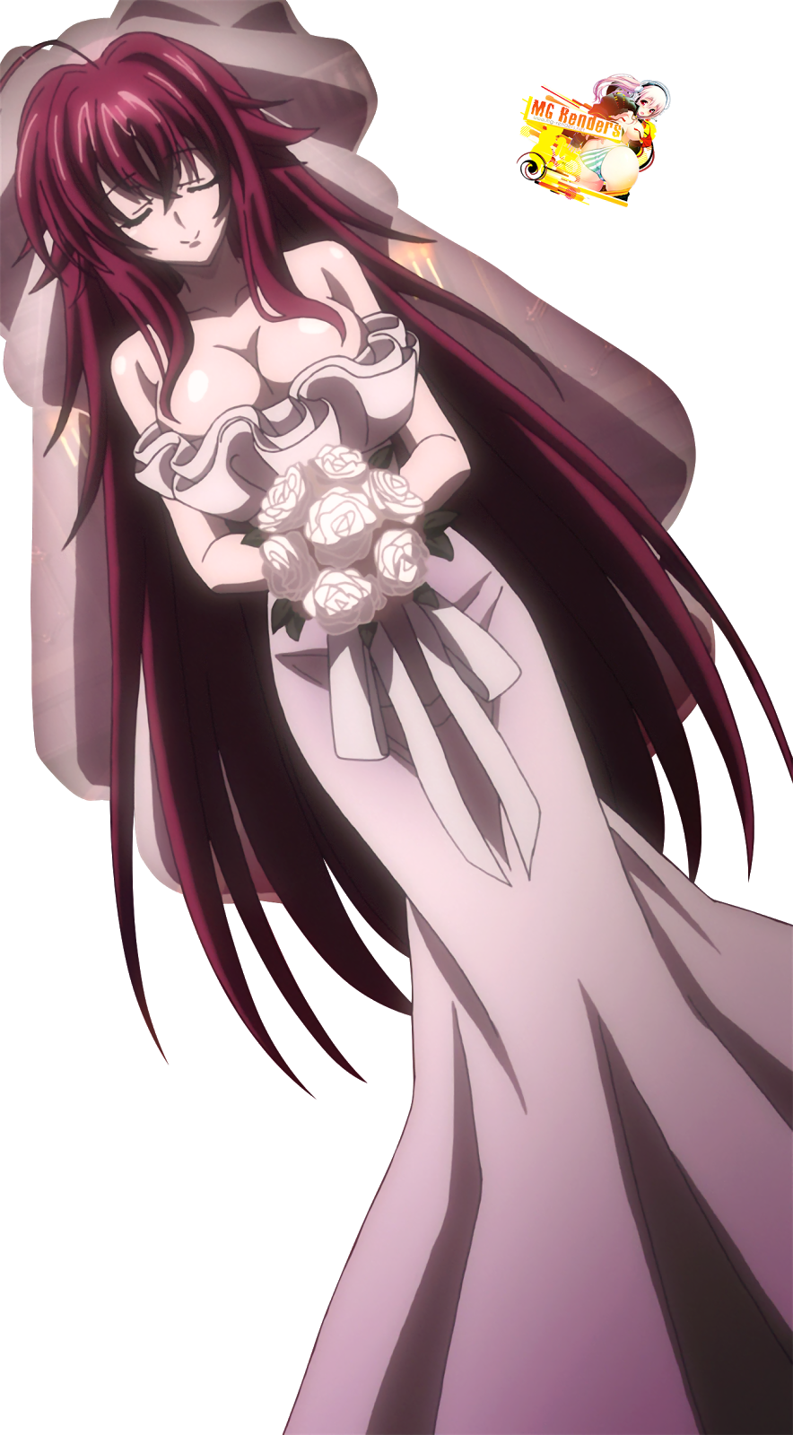 Tags: Anime, Render,  High School DxD, ハイスクールD×D, Haisukūru D×D,  Rias Gremory, リアス・グレモリー,  PNG, Image, Picture