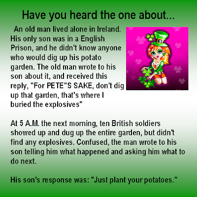 The Irish Garden Joke