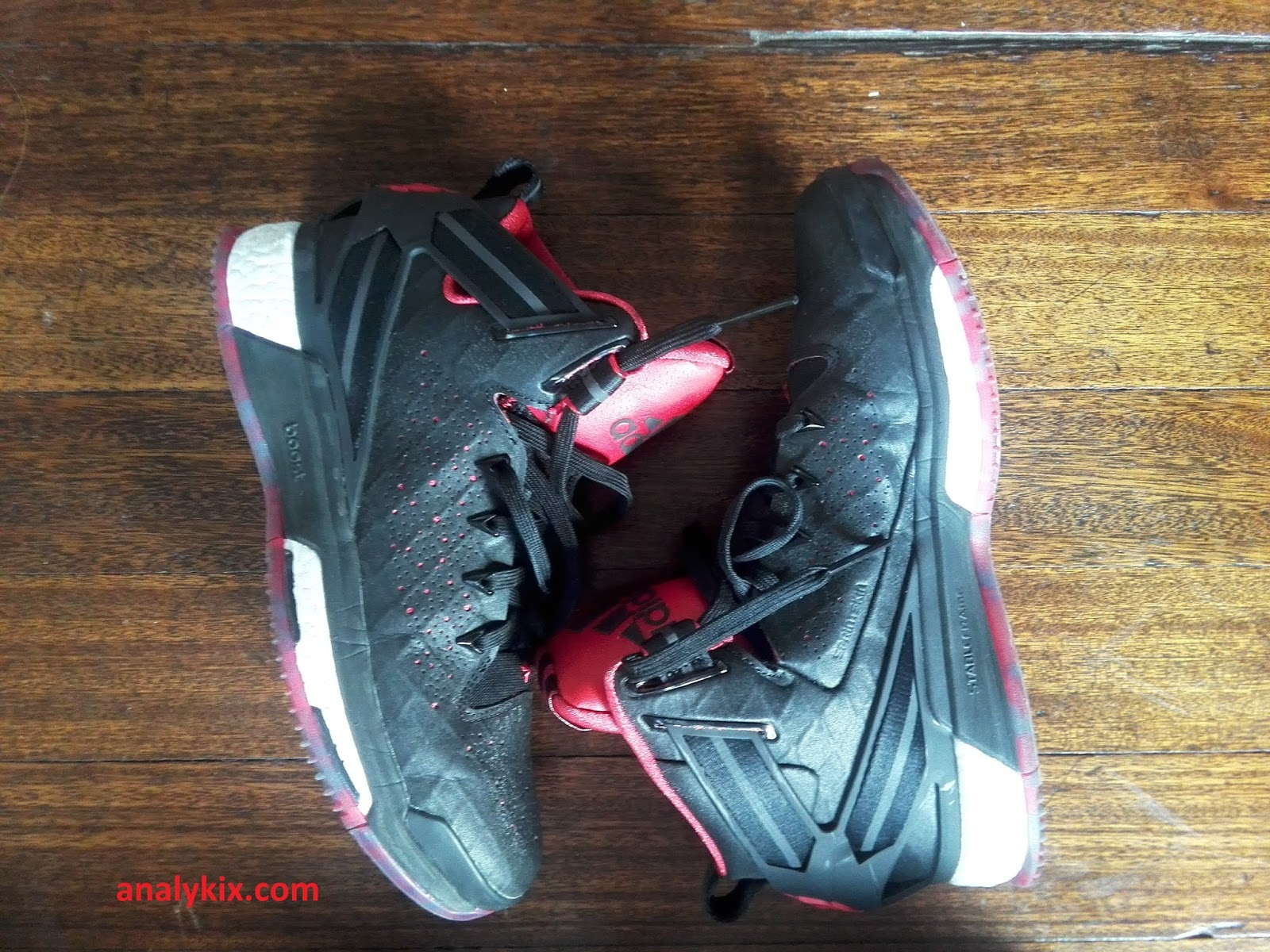 outlet store 9d7e0 b5c90 Performance Review Adidas DRose 6  Analykix