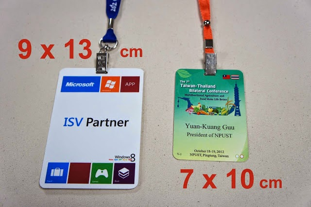 ID CARDs Badge ( Waterproof )