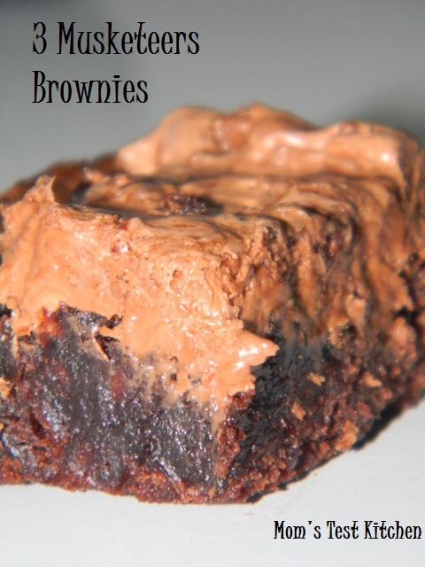 3 Musketeers Brownies