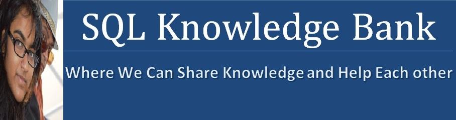 Microsoft SQL Server  Knowledge Bank