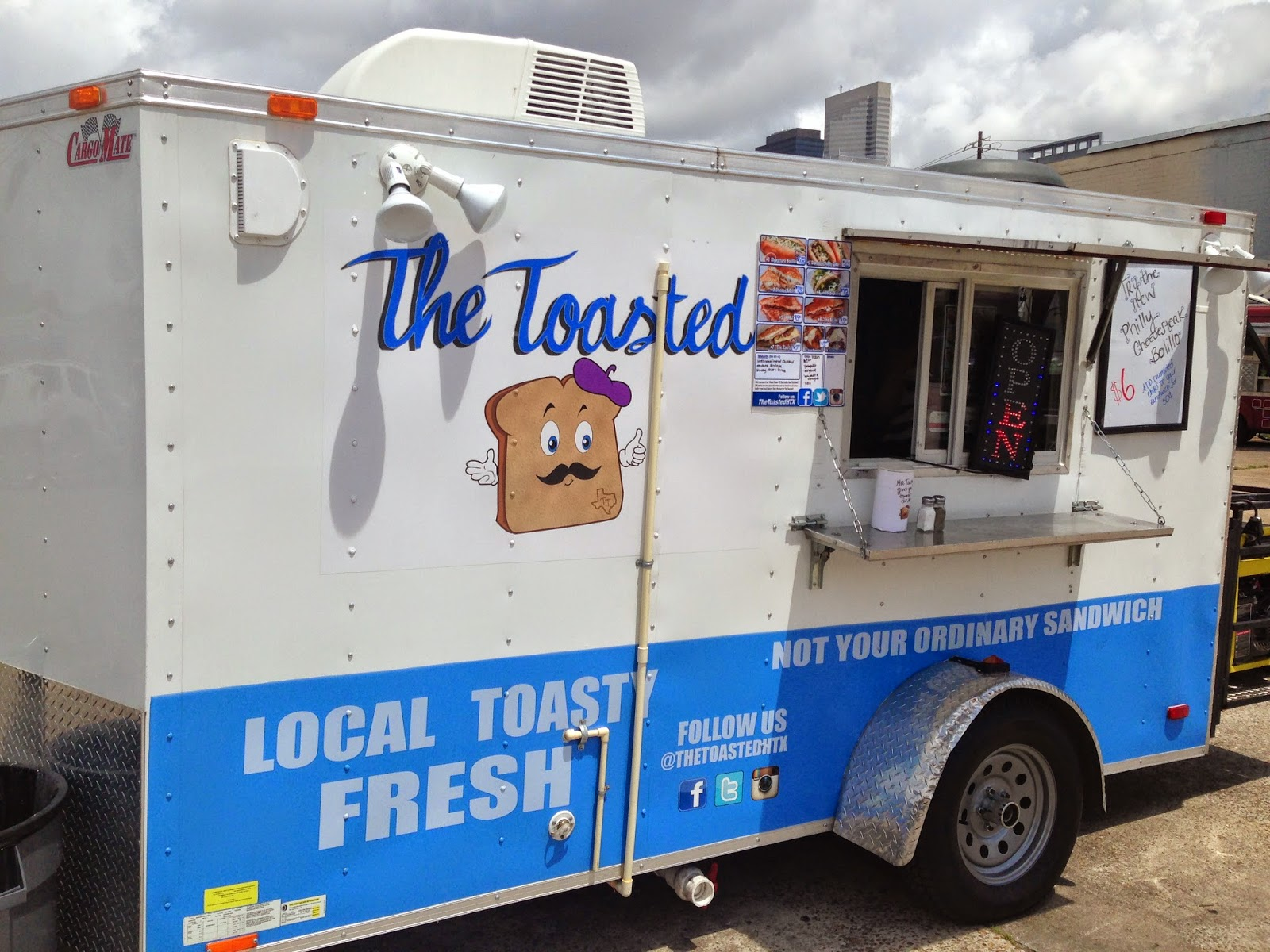 The Toasted Food Truck, Houston TX