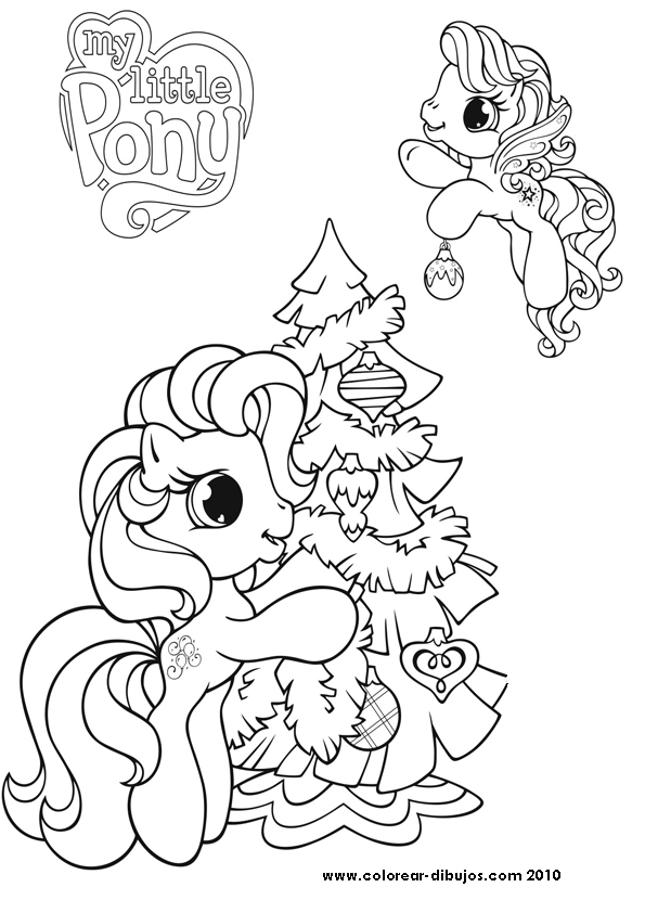 my little pony para pintar: