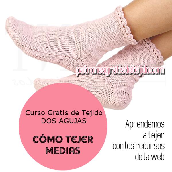 Como tejer calcetines paso a paso en video en español