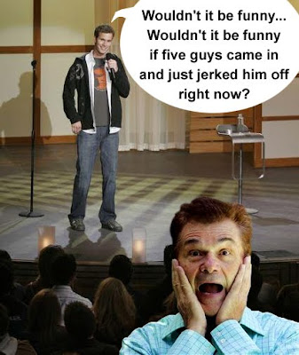 mean joke involving Fred Willard and Daniel Tosh