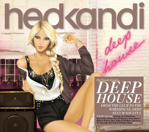 Hed Kandi Deep House (2012) [Mixed + Unmixed]