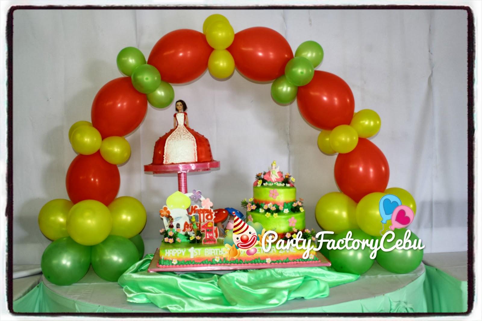 Welcome to PartyFactory Cebu: KASHIETHEA ZANE'S 1st TINKER BELL