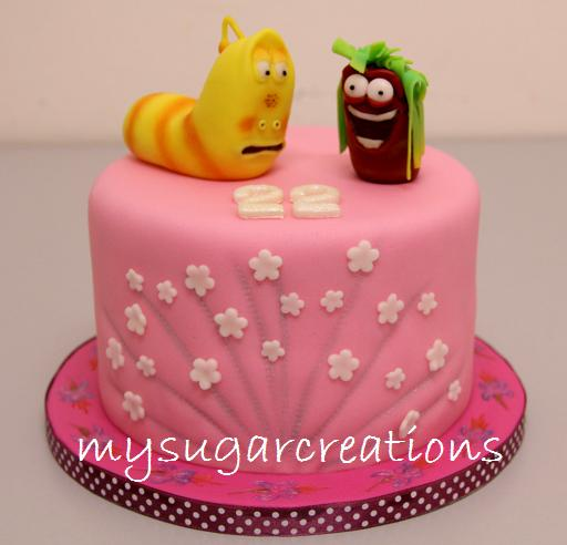 Larva Cartoon Cake Design : My Sugar Creations (001943746-M): Larva Cartoon Cake II