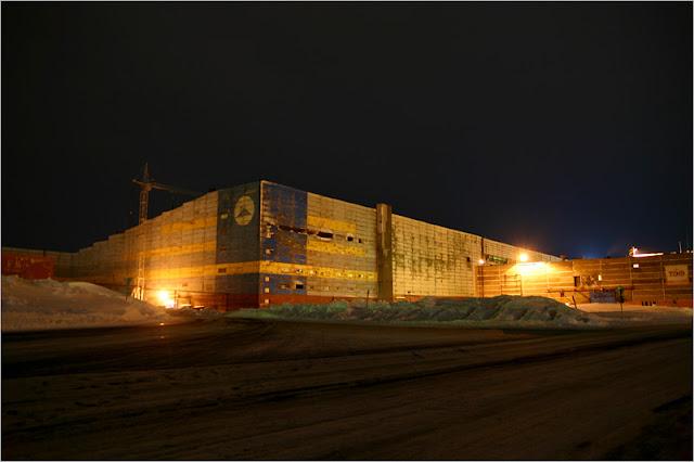 город Норильск, фото, район Талнах, «ТОФ»