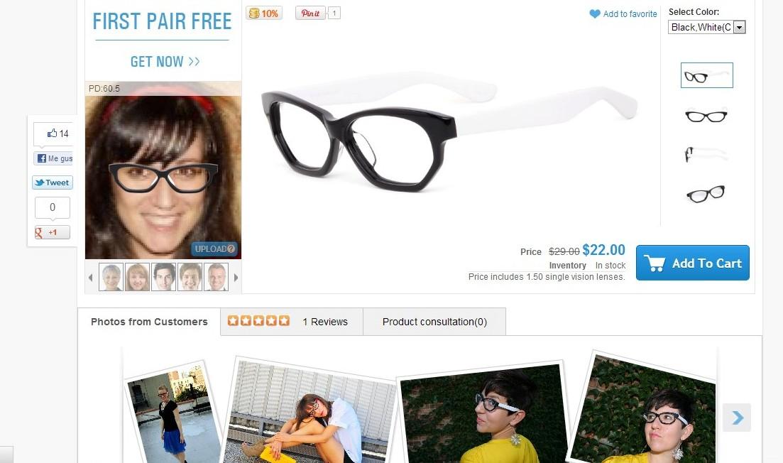 Gafas Firmoo gratis eyewear web