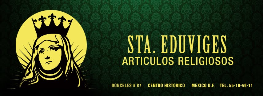 STA. EDUWIGES ARTICULOS RELIGIOSOS