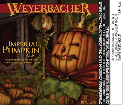 Weyerbacher Imperial Pumpkin label