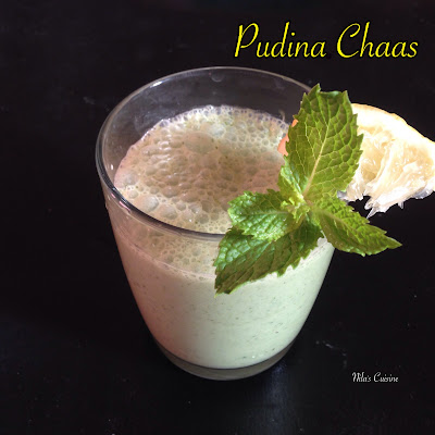 Pudina Chaas/Mint Buttermilk