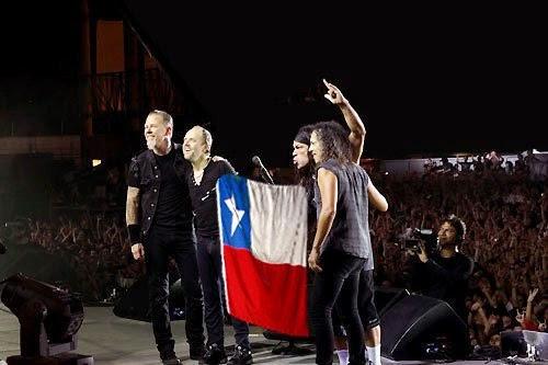 Metallica en Santiago de Chile 2014