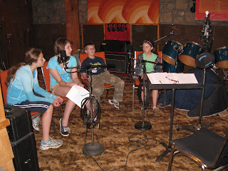 'Kick The Can' at Twain Recording, West Milford, NJ - 2