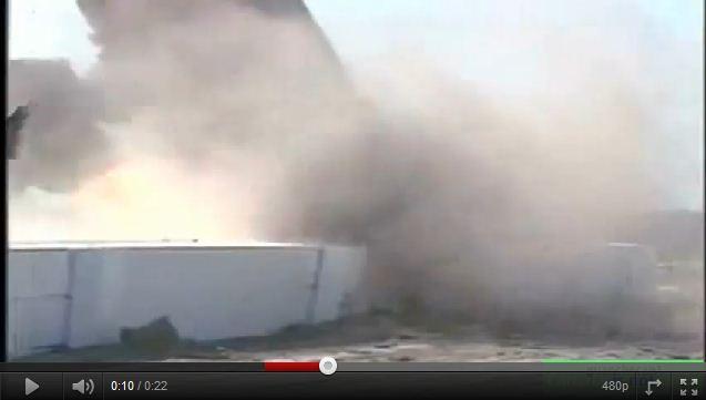 videos de camiones pruebas de choques