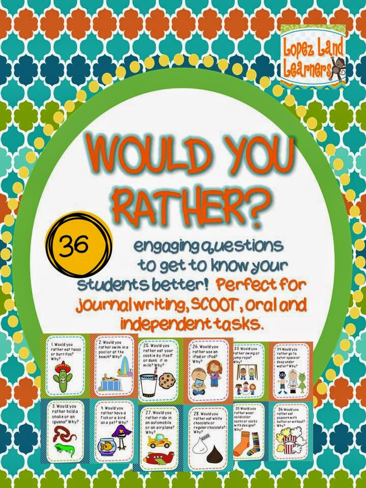 https://www.teacherspayteachers.com/Product/Would-You-Rather-44-Getting-to-Know-You-Questions-and-Writing-Prompts-1366069