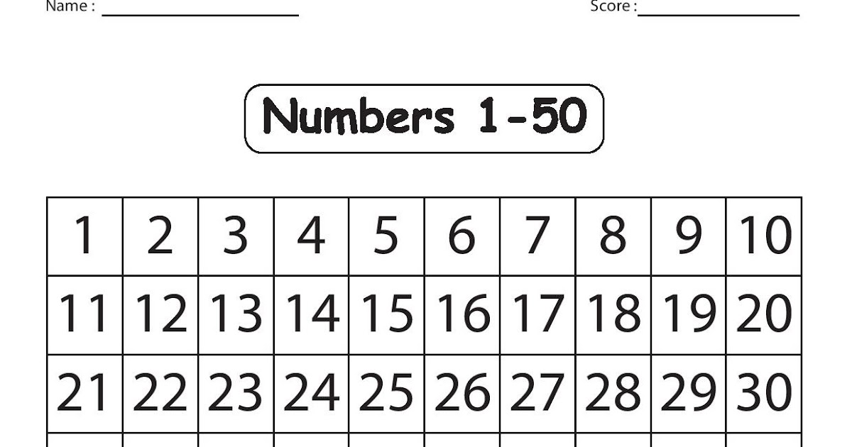 It's just an image of Rare Free Printable Numbers 1-50