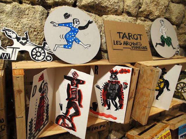 tarot-arcanes mineurs-Brigitte Rio