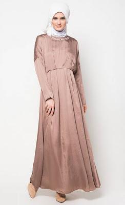 Koleksi Baju Muslim Gamis Modis Untuk Lebaran