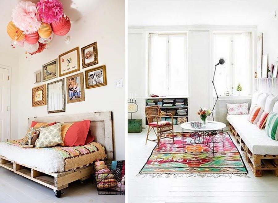 Muebles de palets, buscando inspiración para los tuneos