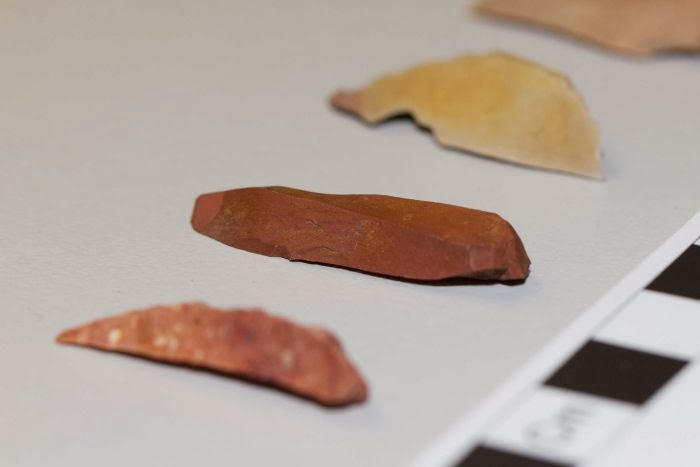 Aboriginal artefacts uncovered during road works