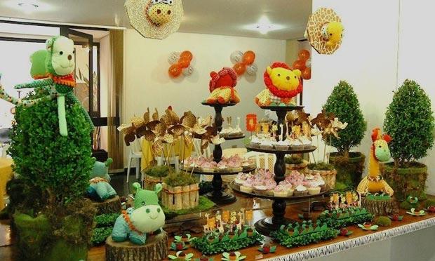festas aniversario jardim zoologico maia : festas aniversario jardim zoologico maia:Espaço da Moda: Decoração – Festa de Aniversário Infantil