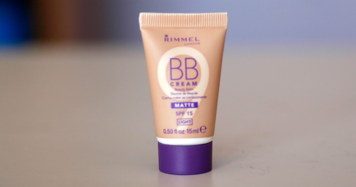fun size beauty rimmel bb cream matte in 001 light. Black Bedroom Furniture Sets. Home Design Ideas