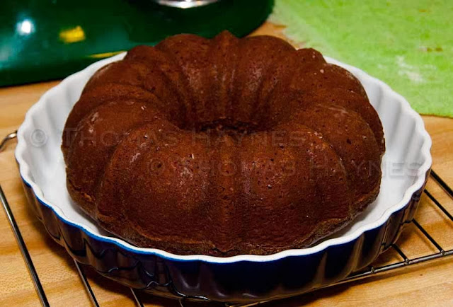 Gingerbread Cake is a perfect holiday delight, served with warm lemon sauce on the side.