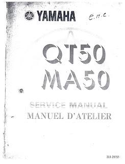 yamaha qt50 qt 50 1979 1992 full service repair manual