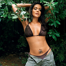 Mandira Bedi Showing Tattoo Hot Pics Set