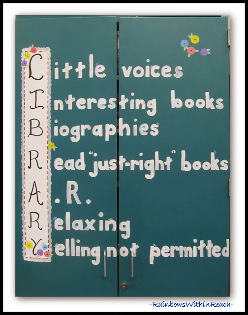 LIBRARY Acrostic via RainbowsWithinReach