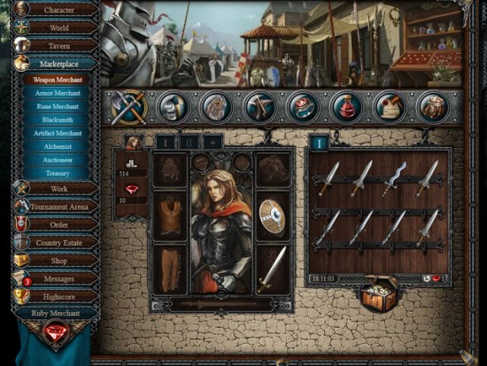 تحميل لعبة فارس المعركة Battleknight