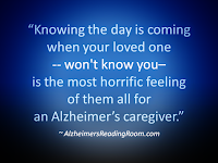 Sitting in The Front Row with Alzheimer's - Alzheimer's Reading Room