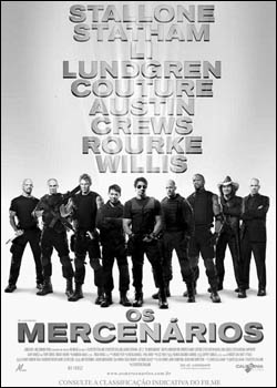 Download  Os Mercenários DVDRip AVI Dual Áudio + RMVB Dublado